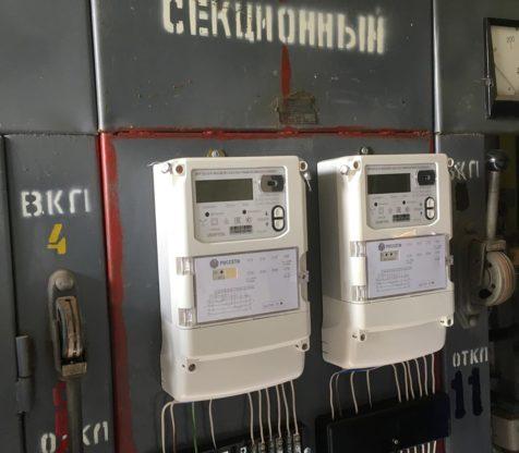 Произвели монтаж счётчиков и трансформаторов тока